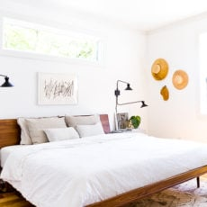12 Rooms in 12 Months: Master Bedroom Makeover Progress (at the New Place)
