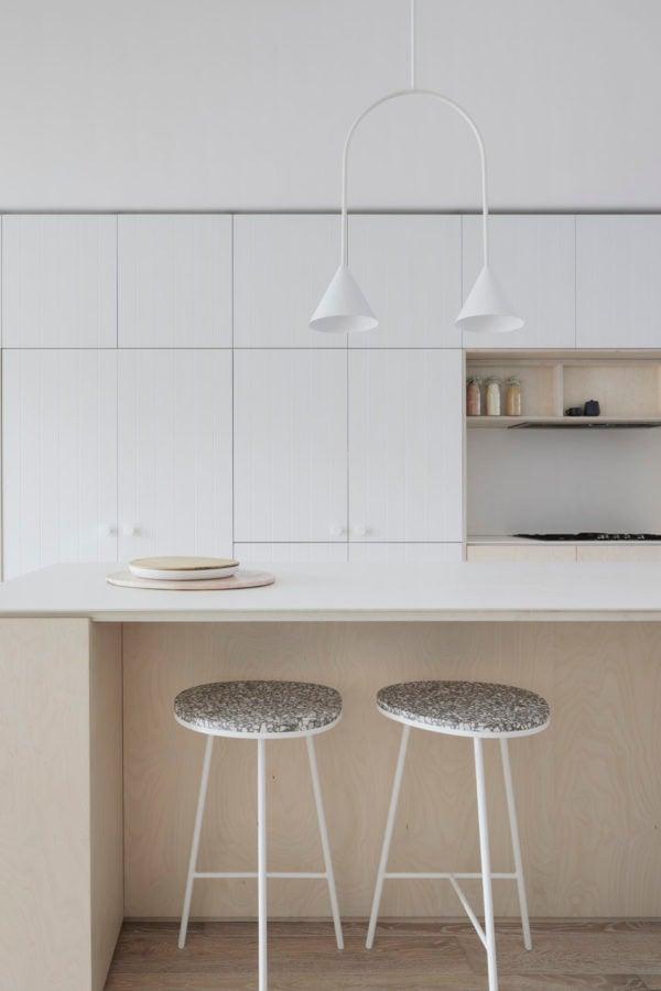 Northbourne Architecture & Design studio. Get down (under) with 18 Inpsiring Australian Designers and Artists #australiandesign #australia #designinspiration #white #kitchen