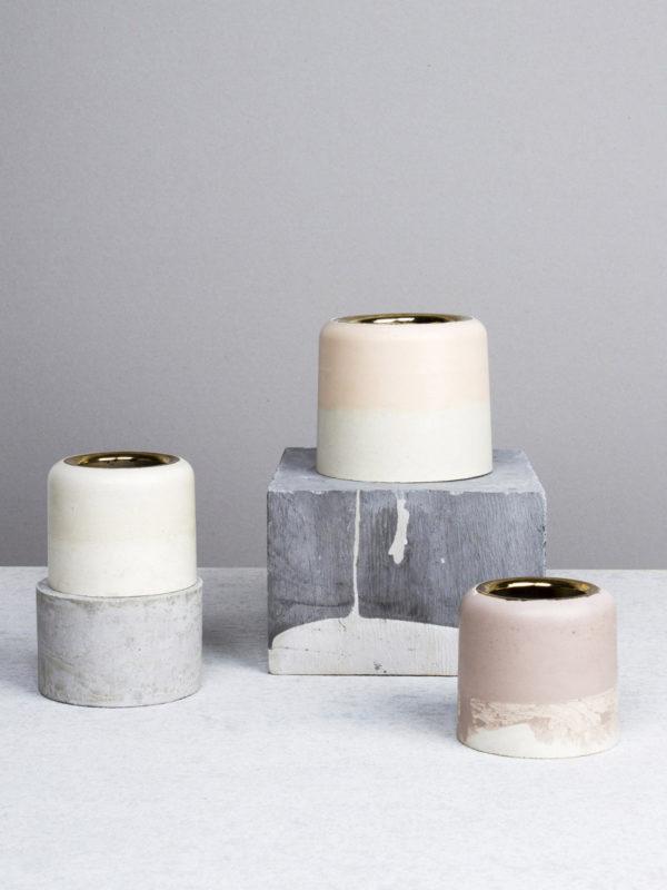 Maddie Sharrock's cement vase design. Get down (under) with 18 Inpsiring Australian Designers and Artists #australianart #australia #designinspiration #case #cement