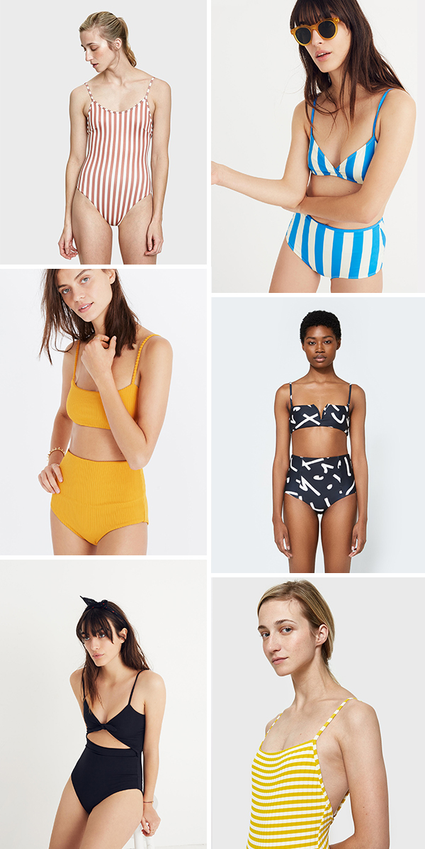 35 of the coolest summer swimsuits to get you ready for pool and beach season. #swimsuits #onepieceswim #swimwear #cutebikini