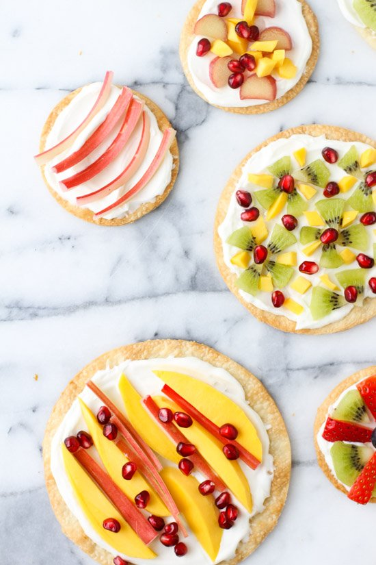 Mini Fruit Dessert Pizzas. Check out 42 of the Best Summer Recipes to Get you Ready for July Fourth.