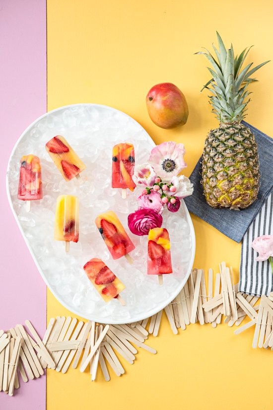 Summer Fruit Punch Pops. Check out 42 of the Best Summer Recipes to Get you Ready for July Fourth.