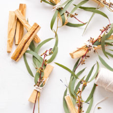 How to Make Eucalyptus Palo Santo Bundles As Gifts and Wedding Favors