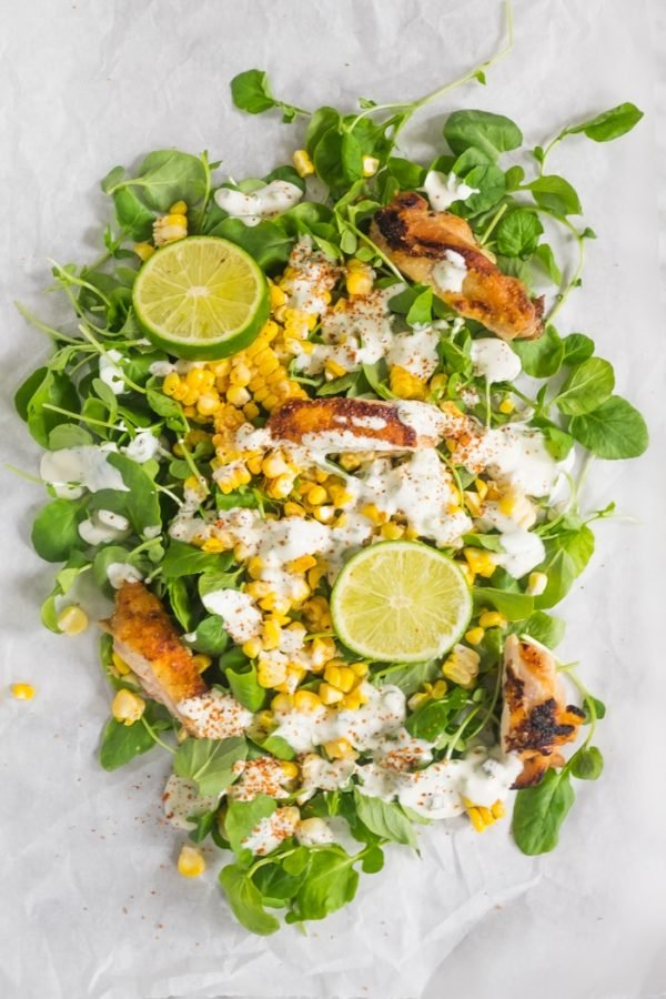 Summer corn salad from Herb & Spoon. Check out 42 of the Best Summer Recipes to Get you Ready for July Fourth.