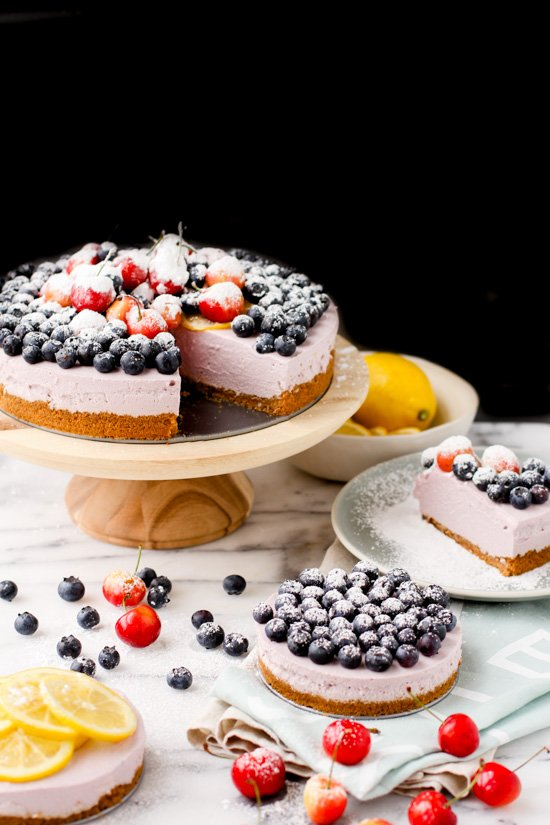 No-Bake Blueberry Cheesecake. Check out 42 of the Best Summer Recipes to Get you Ready for July Fourth.
