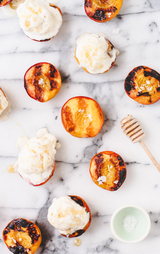 Grilled Peaches and Ice Cream. Check out 42 of the Best Summer Recipes to Get you Ready for July Fourth.