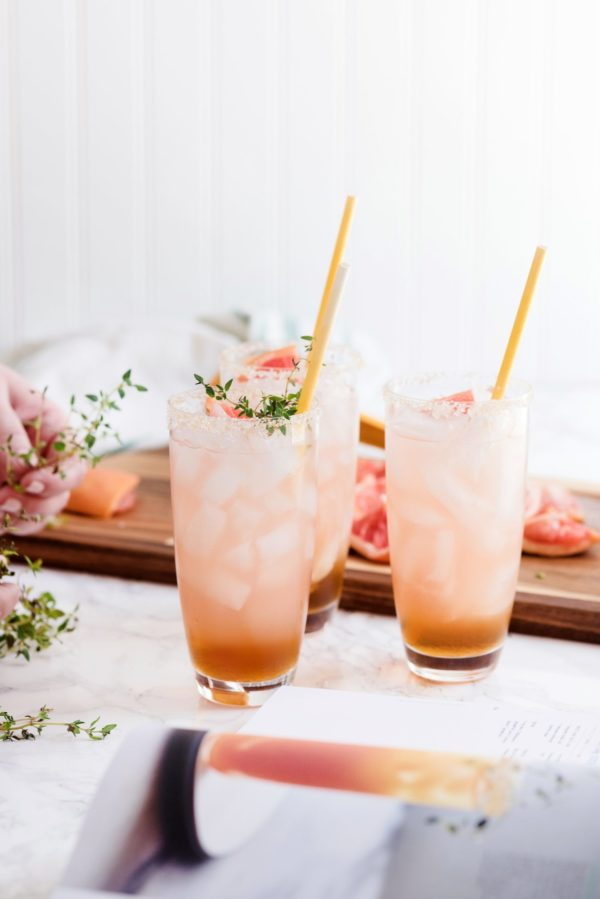 Maple Salty Dog Cocktail from The Sweetest Occasion. Check out 42 of the Best Summer Recipes to Get you Ready for July Fourth.