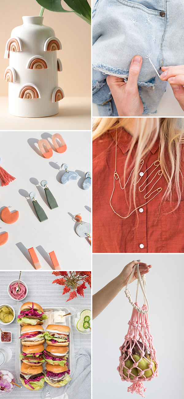 6 Weekend DIYs to Try! #weekendprojects #diyideas #cooldiyideas