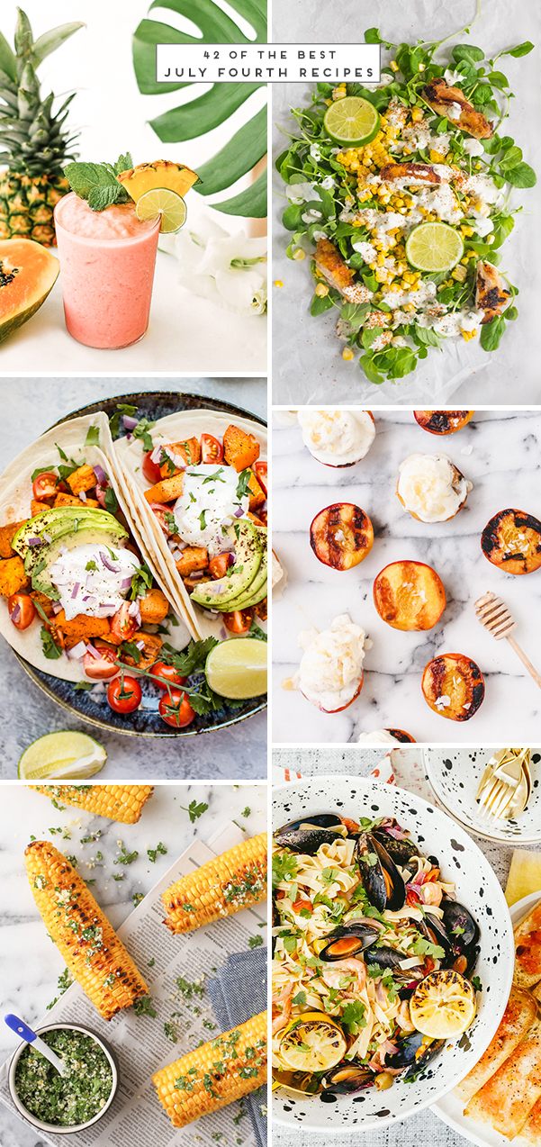 Oh My! It's Almost July: 42 of the Best July Fourth Recipes #julyfourth #julyfourthrecipes #summerrecipes #summerideas
