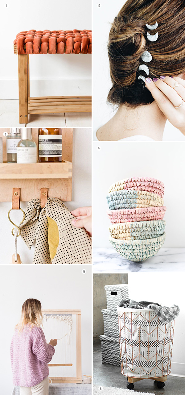 6 Weekend DIYs to Try #weekendproject #diyideas