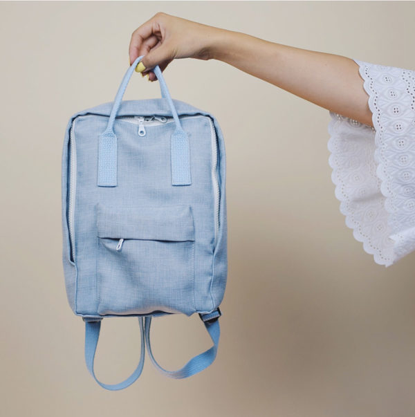 How to make a cute backpack from scratch. Click through for all 24 unique back to school ideas. #backtoschool #backtoschooldiy #diy #diyideas #backtoschoolideas