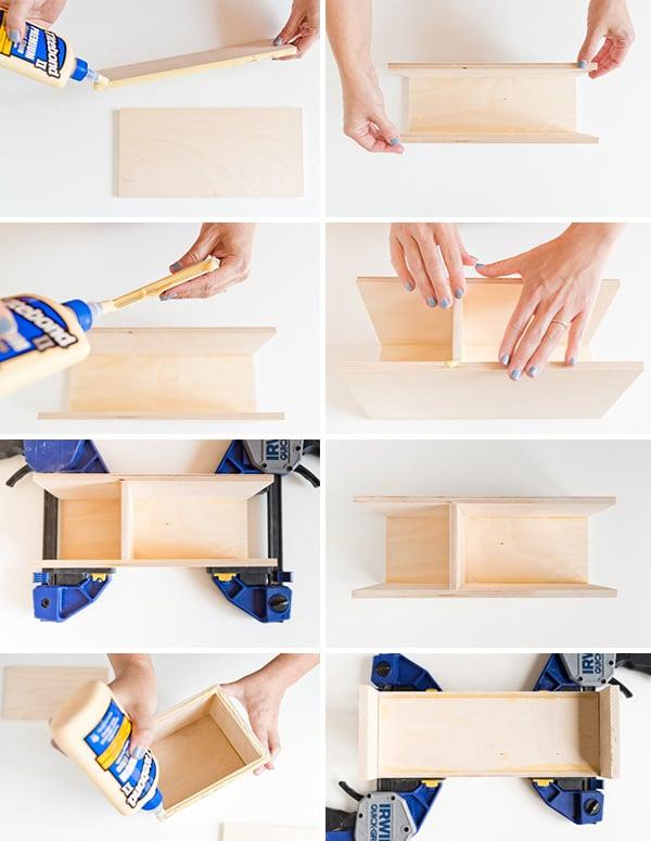 How to Make a Modern DIY Desk Organizer. #backtoschool #backtoschooldiy #organization #diyorgnaizer #deskdiy #homedecordiy #woodproject #modernwoodproject