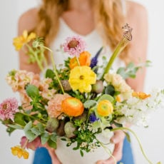 Flower Power: 8 Tips from a Florist for Easy Floral Arranging + The Perfect Flower Recipe