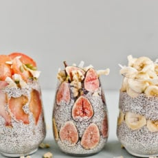 The Prettiest Chia Seed Fruit Parfaits