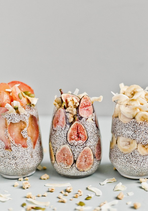 The Prettiest Chia Seed Fruit Parfaits #breakfastrecipe #easyrecipe #parfait #chiaseeds #breakfastideas #easybreakfast