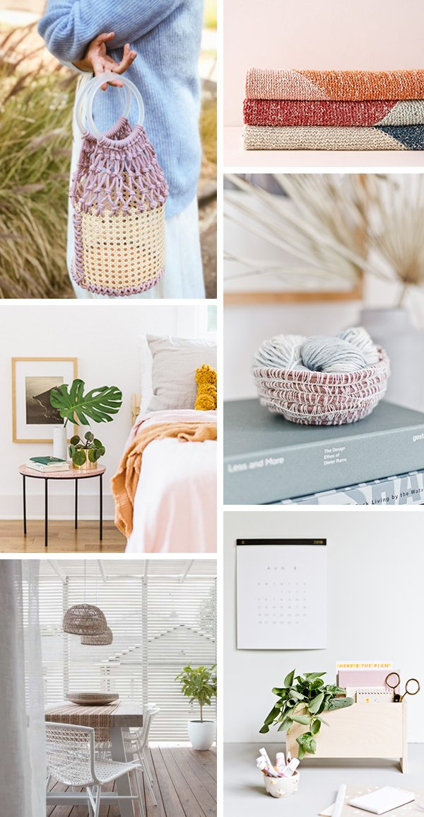 6 DIYs to Try This Weekend. #weekendprojects #diyideas #cooldiyideas #moderndiy #organicmodern