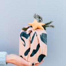 Wrap It Up: DIY Fabric Gift Wrap for the Holidays