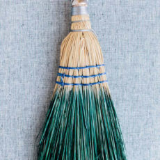 Clean House: A Dip Dyed Hand Broom DIY