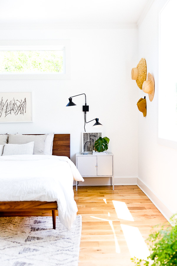The Most Loved Projects Of 2018 (According To You): Master Bedroom Makeover #masterbedroom #roommakeover #bedroommakeover #organicmodern #interiors