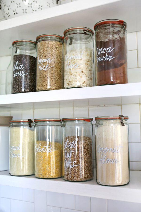 33 Ways to Organize Your Life: DIY Kitchen Organization. #organization #organized