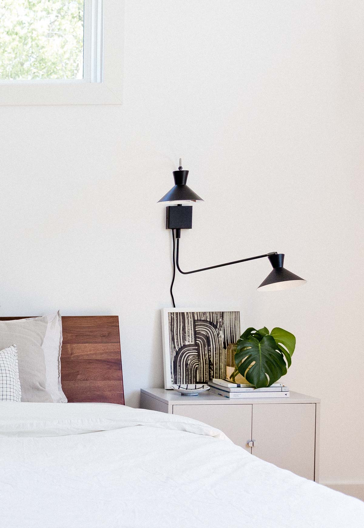 The Minimal Ish Guide To Styling Your Nightstand Paper And Stitch