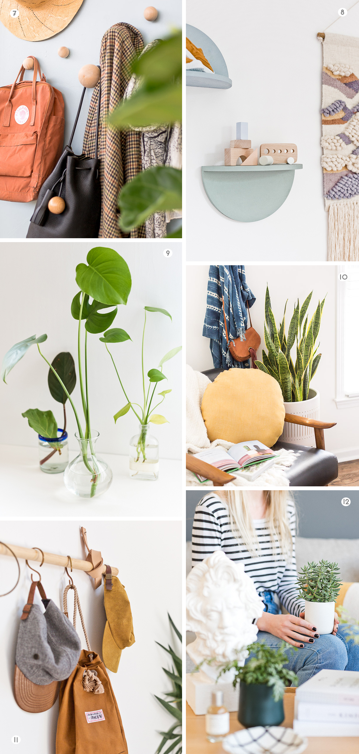 12 (Home Decor) DIYs to Try This Weekend #weekendproject #diy #diyhome #homedecor #housewares #modernhome #minimalhome