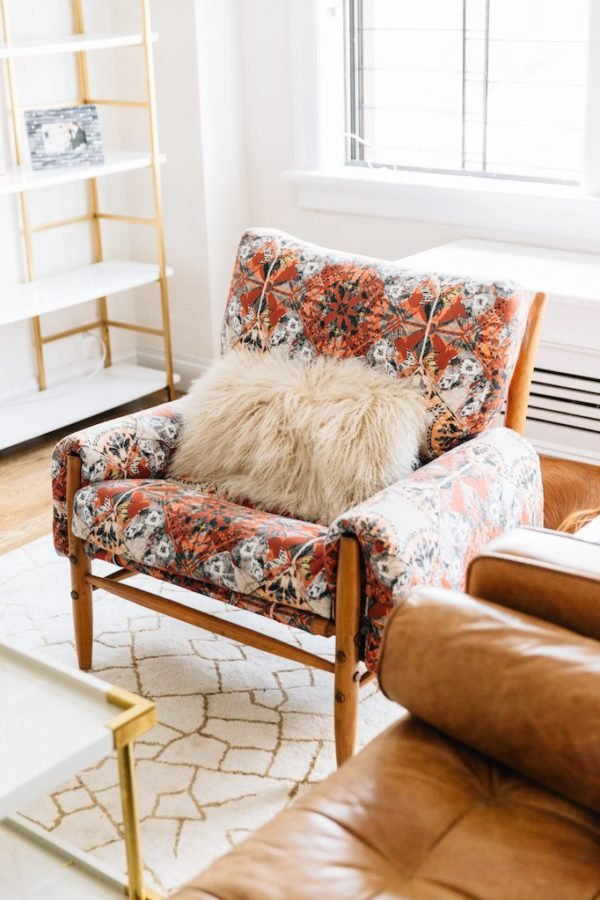 Total Hack: 8 Furniture Hacks for Revamping What You Already Have (On a Tight Budget) #furniture #makeover #upcycle #upholstered #chair