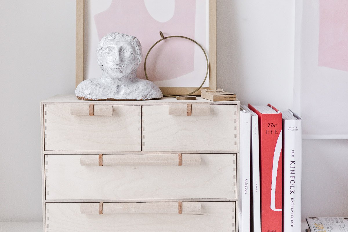 A Minimal Modern Ikea Hack That Will Instantly Elevate Your Moppe Mini Storage Chest Paper And Stitch
