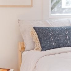 How to Make an Extra Long Lumbar Pillow
