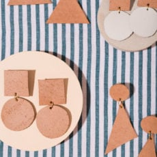 Lend Me Your Ear: DIY Leather Statement Earrings