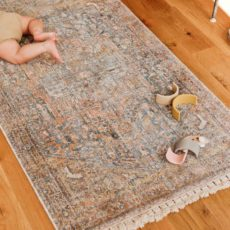 Rug Thug: How to Upgrade an Inexpensive Rug for $10 (in under 10 Minutes)