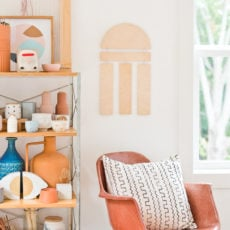 Hang In There: How to Make a (Reversible) DIY Wood Wall Hanging