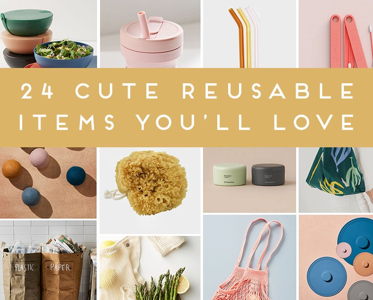 A shopping guide with eco friendly products that will replace single use items.