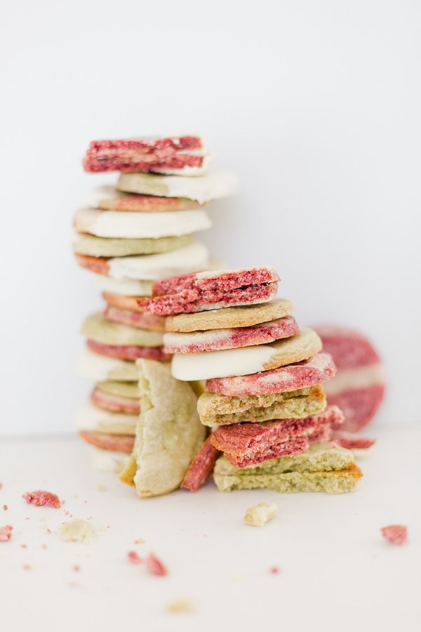 Christmas Sugar Cookies (with a Twist): Raspberry and Matcha Sugar Cookies Recipe