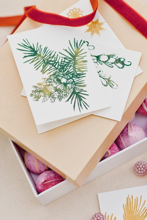 Holiday greeting cards DIY