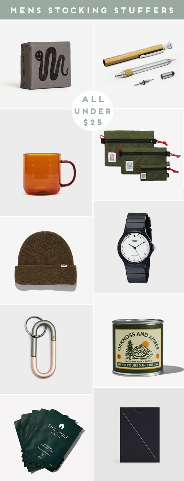Cool stocking stuffers for men - under $25