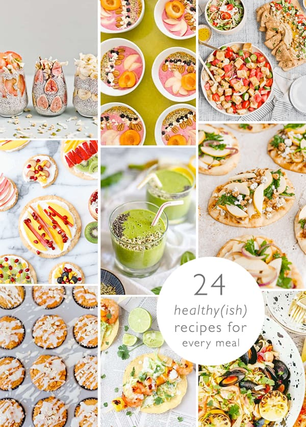 Images of healthy recipe ideas for every meal