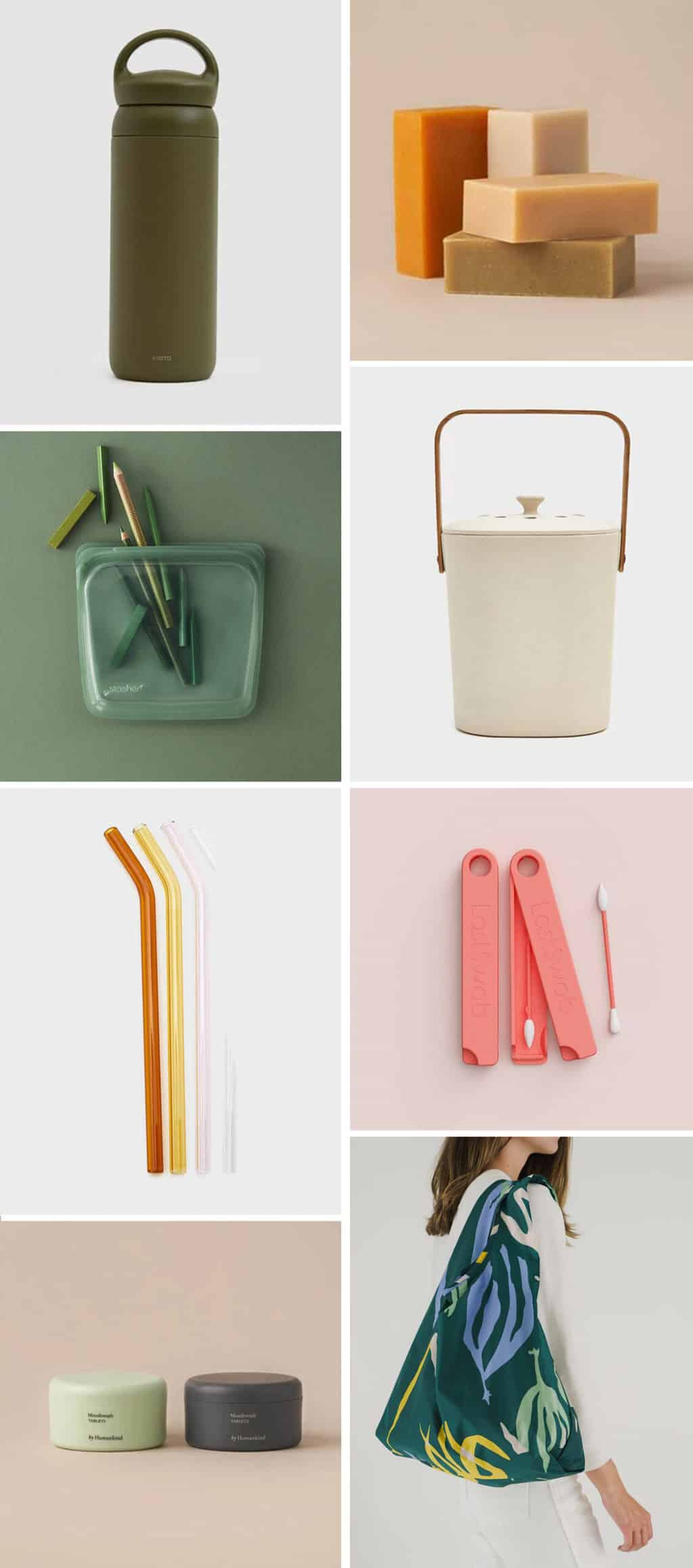 Cute reusable products that are eco friendly.
