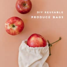 How to Make Reusable Produce Bags in 15 Minutes