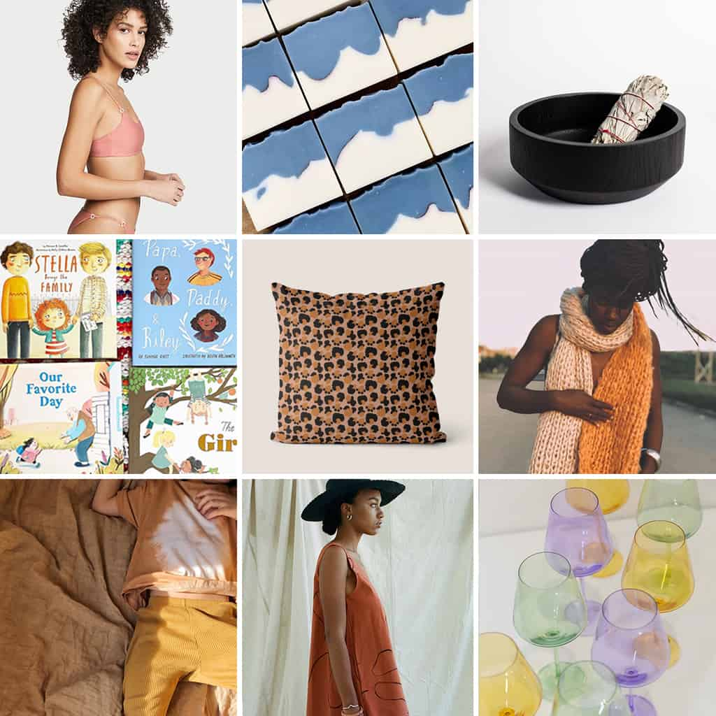 Black-owned businesses in fashion, home, kids, beauty, and more.