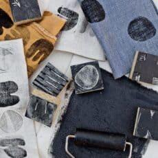 Block Printing 101: How to Block Print Fabric