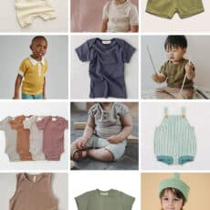 My Favorite Brands for (Well Made) Cool, Gender Neutral Baby Clothes
