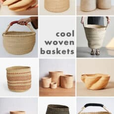 Where to Source Cool Woven Baskets for Storage
