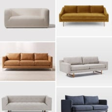 Couch Potato: 16 Stylish Modern Sofas Under $1,000
