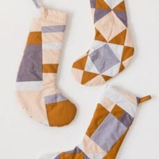 How to Make Quilted Christmas Stockings