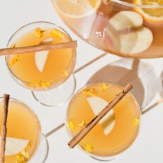 (Easy) Spiked Cider Holiday Punch Recipe