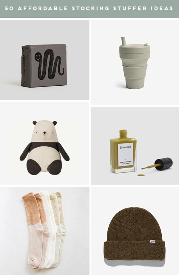 Roundup of small gift ideas for different people on your holiday list.