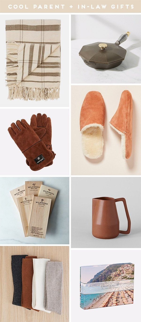 Images of gift ideas for parents and in-laws