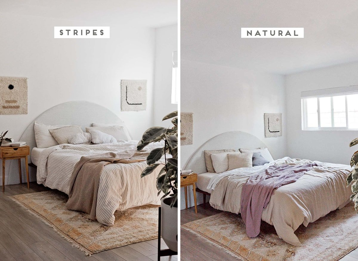 Linen Bedding 2 Ways Our Primary Bedroom Update Paper And Stitch