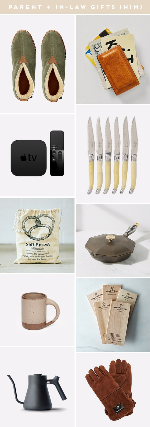 Images of gift ideas for parents and in-laws (his edition)